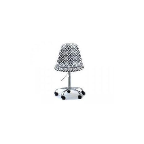 Krzesło kosmetyczne sardynia tapicerowane folk marki Vanity