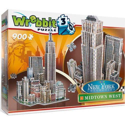 Puzzle 3D Wrebbit New York Midtown West 900, 72821502835GR (2597565)