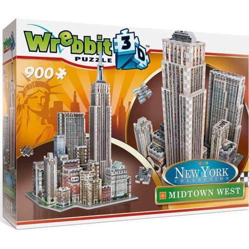 Puzzle 3D Wrebbit New York Midtown West 900