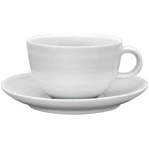 Filiżanka do cappuccino ze spodkiem | 4 szt. | 11(Ø)x(H)8cm