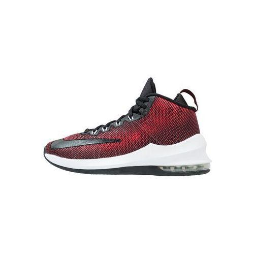 Nike Performance AIR MAX INFURIATE MID Obuwie do koszykówki black/university red/white