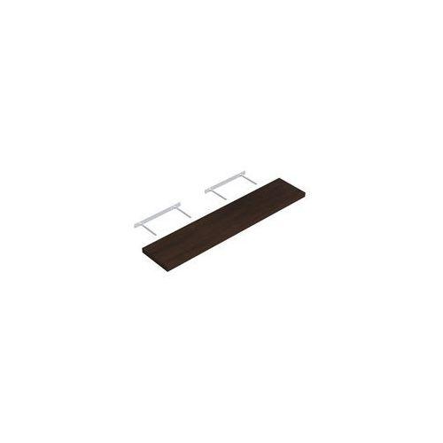 Domax Półka ścienna komorowa wenge 118 x 23.5 cm velano