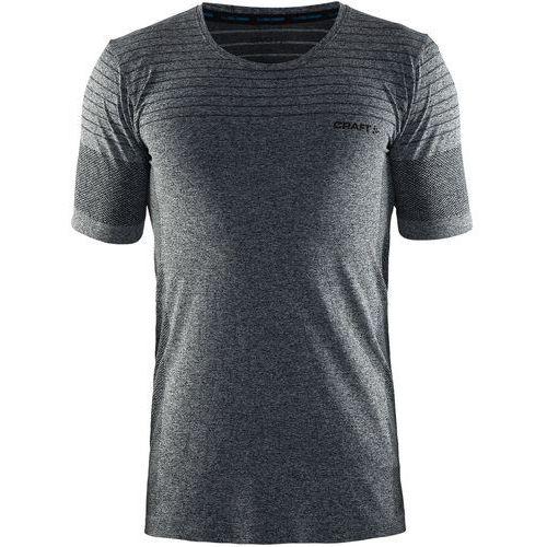 Craft cool comfort regular fit tshirt basic black melange