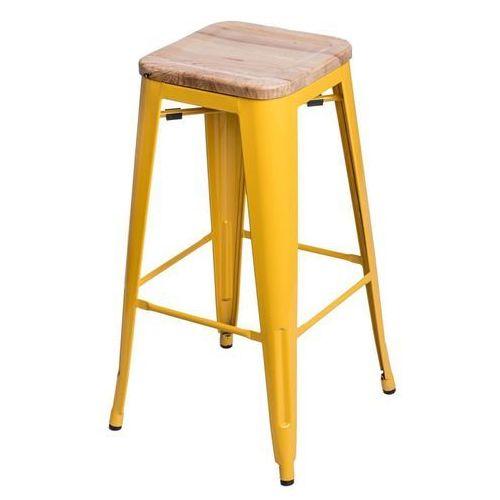 D2.design Hoker paris wood 75cm jesion - żółty (5902385709606)