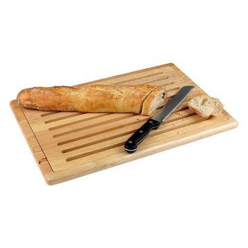 Drewniana deska do krojenia chleba   530x325x2 mm marki Tom-gast