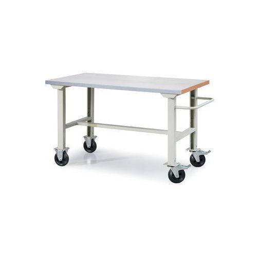 Mobilny stół roboczy solid 400, 1500x800 mm, stal marki Aj produkty
