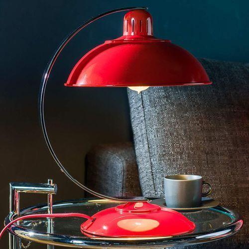 Elstead Lampa stołowa franklin franklin red - lighting - rabat w koszyku (5024005258513)
