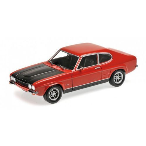 Ford capri rs 2600 (lhd) 1970 (red/black) marki Minichamps