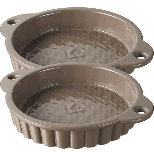 Tartaletki porcelanowe Revol Les Naturales szare (RV-647711-2), RV-647711-2
