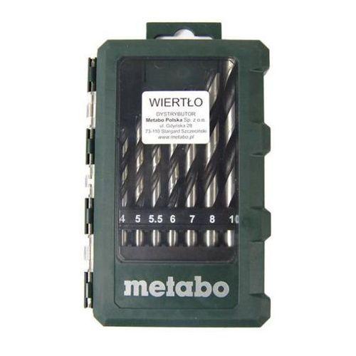 OKAZJA - Metabo 8 wierteł (626705000) - produkt w magazynie - szybka wysyłka! (4007430240224)