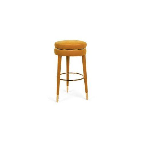 Bold monkey i am not a macaron stołek barowy musztardowy wyższy bm15006 (8718548047822)