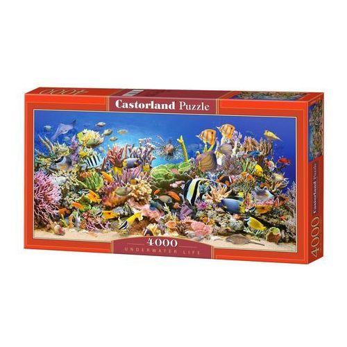 Puzzle 4000 elementów c-4000089-2 underwater life marki Castorland