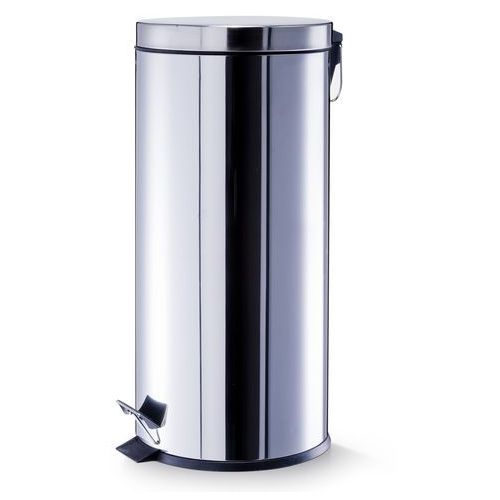 Zeller Kosz na śmieci 30l inox (4003368184326)