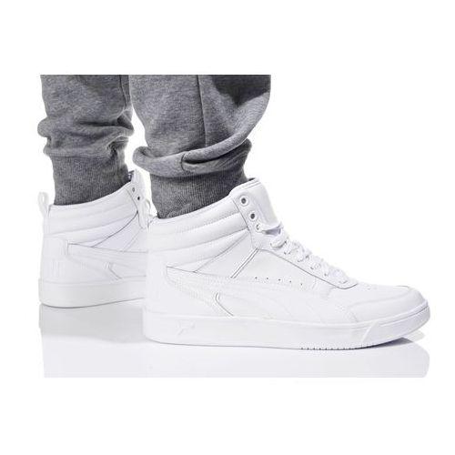 Buty rebound street v2 l 363716 02 - perłowy   white   biały marki Puma