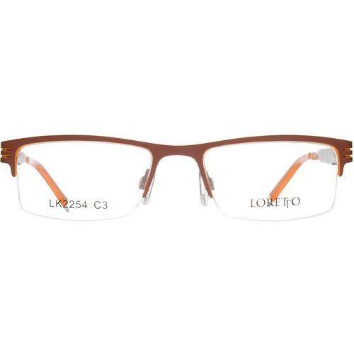 Loretto lk 2254 c3 Okulary korekcyjne + Darmowa Dostawa i Zwrot (okulary korekcyjne)