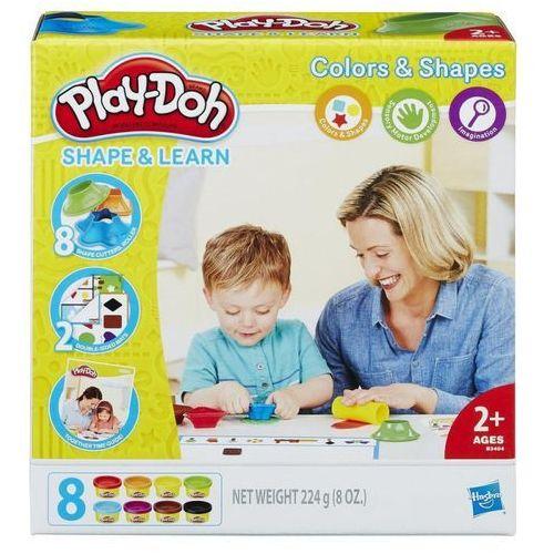 Hasbro Playdoh kolory i kształty -