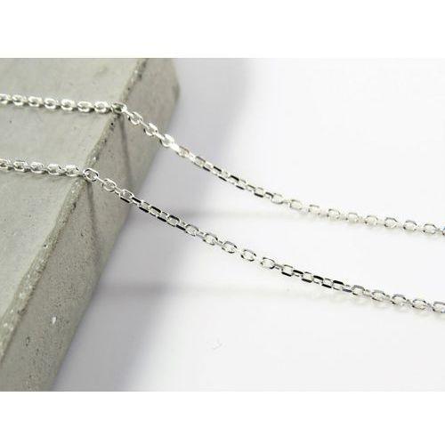 Megasilver Srebrny (925) łańcuszek ankierka ankier 50 cm