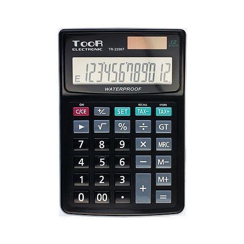 Toor electronic Kalkulator toor tr2296 12 pozycyjny wodoodporny