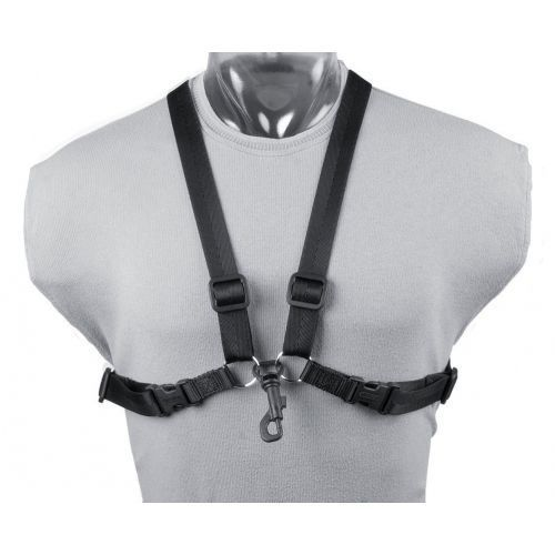 Neotech pasek saksofonowy simplicity harness kolor: czarny, dł. 38-56 cm