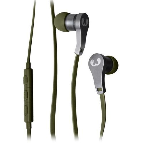 Słuchawki dokanałowe FRESH N REBEL Lace Army Zielony