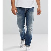 Nudie Jeans Co Fearless Freddie Jeans Crispy Clear Wash - Blue, kolor niebieski