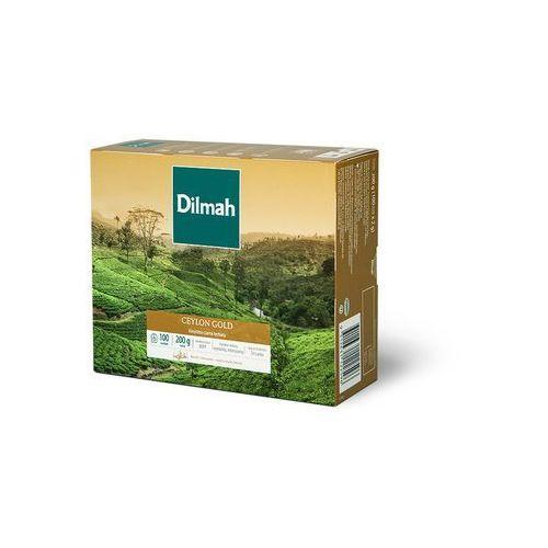 Herbata eksp. DILMAH Ceylon Gold 100tor., 3297