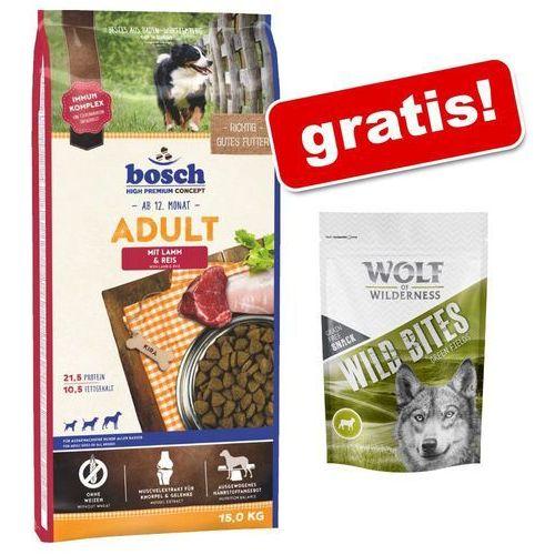 Duże opakowanie bosch + Wolf of Wilderness Snack, Wild Bites, 180 g gratis! - Special Light, 12,5 kg| -5% Rabat dla nowych klientów| Dostawa GRATIS + promocje (4015598013635)