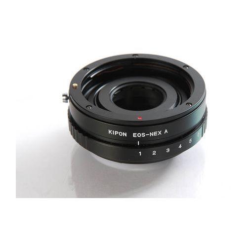 Kipon Adapter Sony E body EF - Sony E A (z pierścieniem przysłony), EOS-NEX A w ap. ring