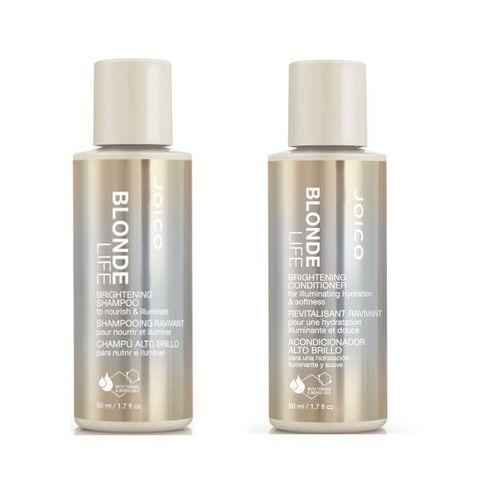 Joico blonde life | minizestaw do włosów blond: szampon 50ml + odżywka 50ml