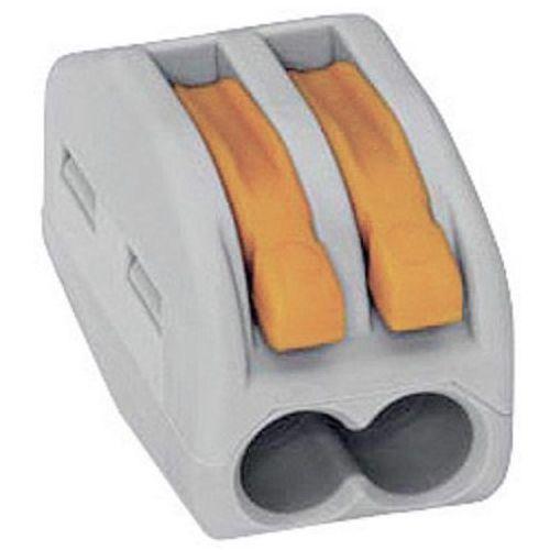 Wago Szybkozłączka uniwersalna 2x0,08-4mm2 z dźwigniami zwalniającymi 222-412 (4050821346470)