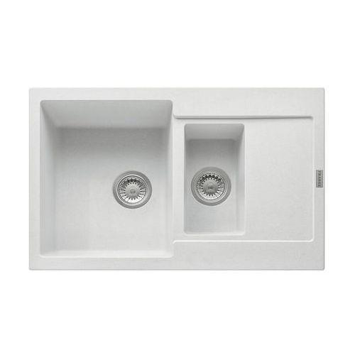 Zlew Franke MRG 651-78 Biały Polarny 114.0201.539 (zamów wycięcie otworów gratis), kolor biały