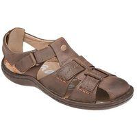 Półbuty Sandały KRISBUT 1108A-4-1 Beż-Brąz - Beżowy ||Brązowy ||Multikolor, kolor beżowy