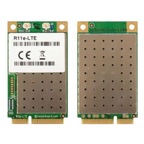Mikrotik r11e-lte minipci-e card, category 4 lte, 2x ufl