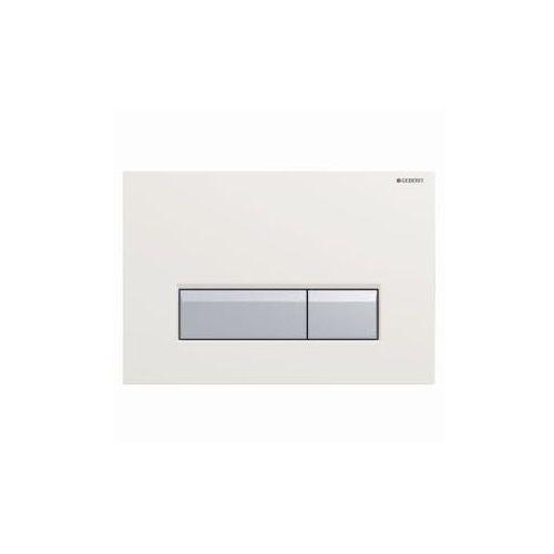 GEBERIT przycisk Sigma 40 DuoFresh biały/szczotkowane aluminium 115.600.KQ.1, 115.600.KQ.1