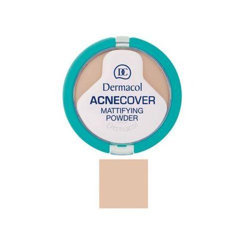 acnecover mattifying powder | matujący puder do cery problematycznej sand 03 11g marki Dermacol