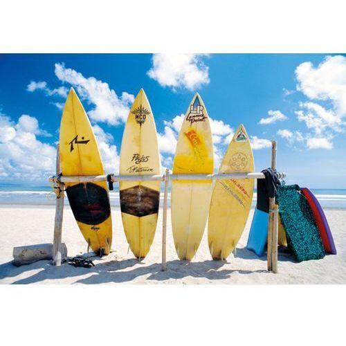Gf Plaża, deski surfingowe - plakat, kategoria: plakaty