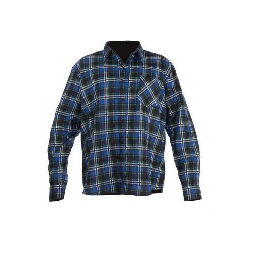 OKAZJA - Koszule flanelowe LahtiPro niebieskie, D1B7-8755E_20160212113516