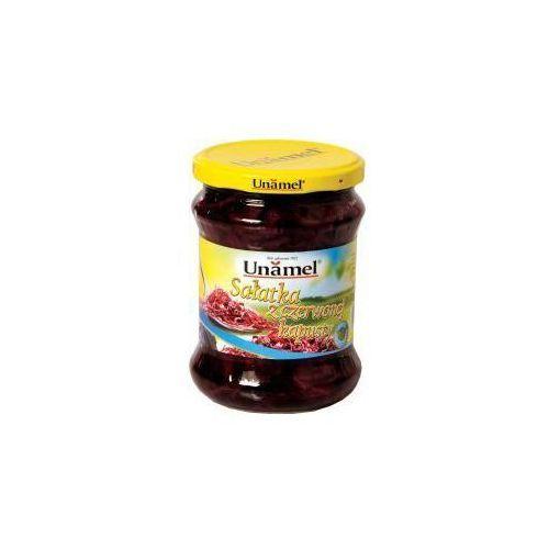 Sałatka z czerwonej kapusty 460 g Unamel