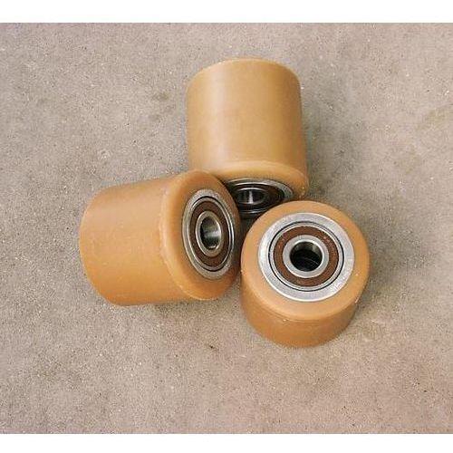 ROLKA metalowo-poliuretanowa do wózka paletowego 80 x 80 mm, 00933 K
