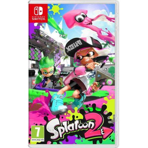 Nintendo Gra switch splatoon 2