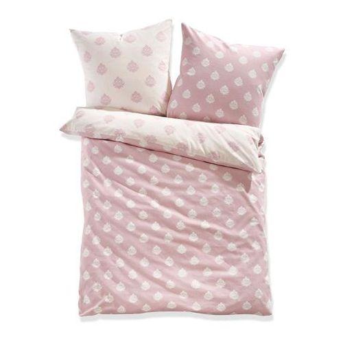"""Pościel dwustronna """"Dana"""" bonprix jasnoróżowy, kolor różowy"""