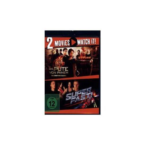 Superfast! / Die Pute von Panem - The Starving Games, 2 Blu-ray
