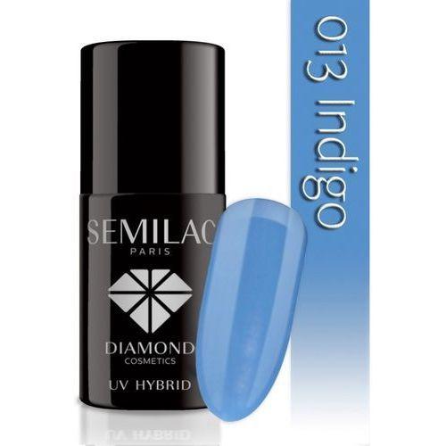 7ml diamond uv hybrid 013 indigo lakier hybrydowy do paznokci marki Semilac
