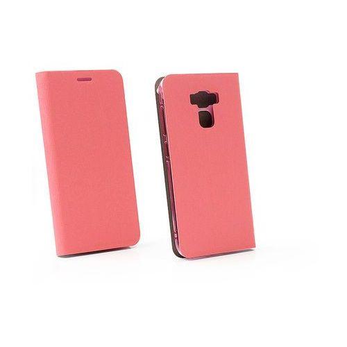 Asus Zenfone 3 Max (ZC553KL) - etui na telefon Flex Book - różowy, kolor różowy