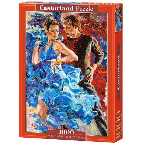 Puzzle 1000 Dance in the Turquoise Tones CASTOR