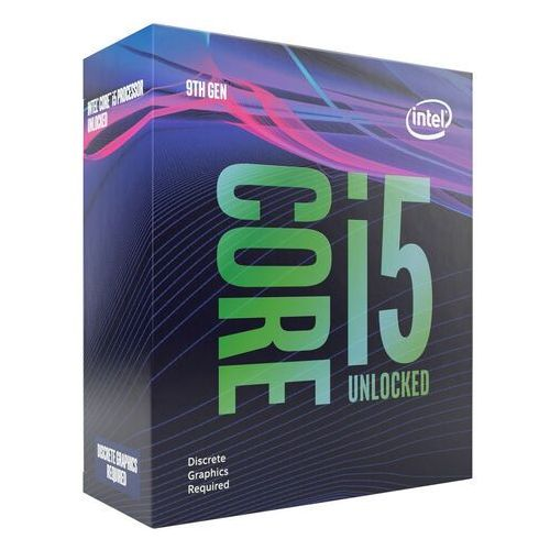 Intel Core i5-9600KF Coffee Lake S Procesor - 3.7 GHz - Intel LGA1151 - 6 rdzeni - Intel BOX (5032037151818)