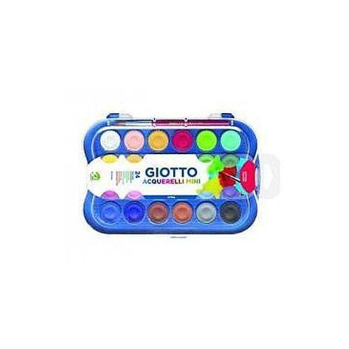 Farby akwarelowe w pastylkach 24 kolory GIOTTO (8000825019555)