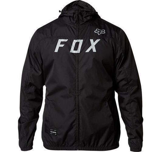 kurtka FOX - Moth Windbreaker Black/Grey (014), kolor czarny