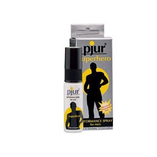 Spray opóźniający przedłużający -  superhero spray 20 ml marki Pjur