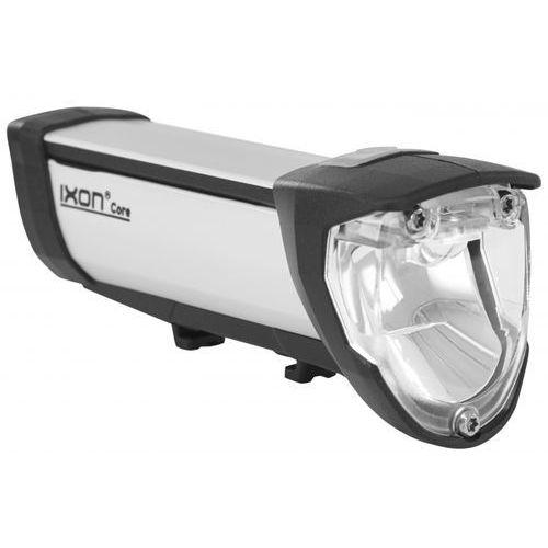 Busch + müller ixon core lampka rowerowa przednia szary lampki na baterie przednie